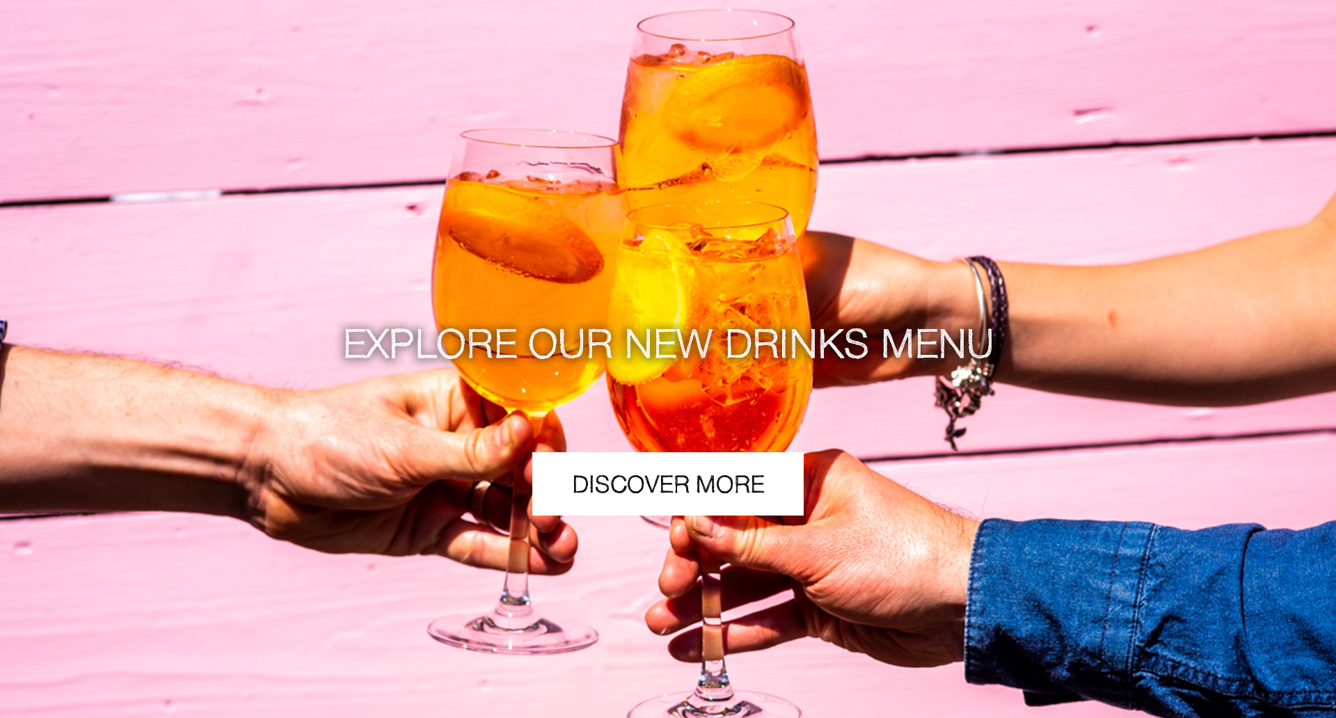 Our New Drinks Menu at The Royal George
