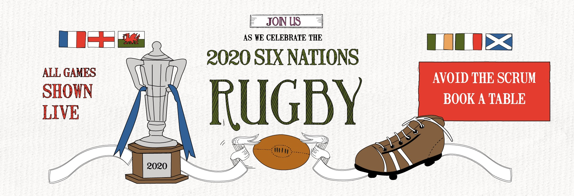 Six Nations Live at Soho